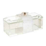 John-Richard Crystal Box w/Selenite Band JRA-10285