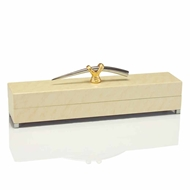 John-Richard Decorative Box w/Gold Nickle Handle JRA-8758