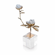 John-Richard Double Celestite Blooms JRA-10283