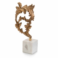 John-Richard Gold Baroque Leaf on Marble MD