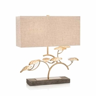 John-Richard Gold Leaf Tree Lamp JRL-9602