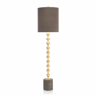 John-Richard Gold Orb Buffet Lamp JRL-9600