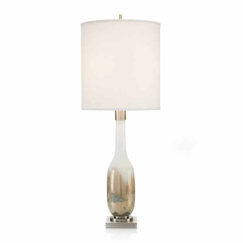 john richard hand blown golden table lamp free shipping