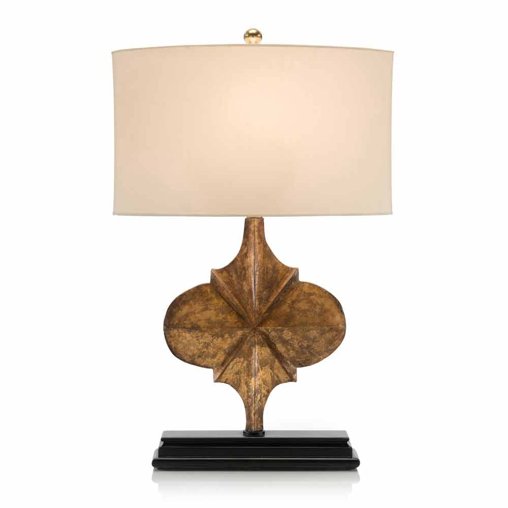 john richard hand carved gold star table lamp free shipping