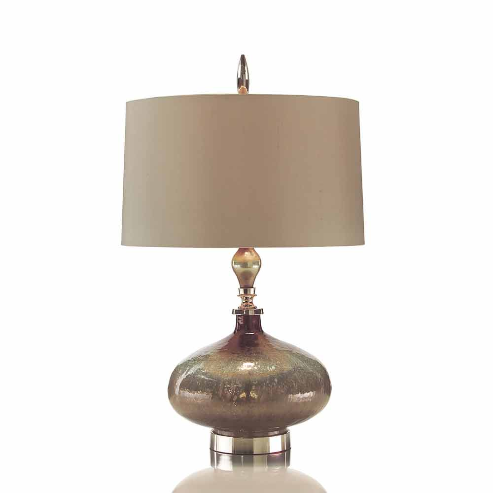 john richard rainwater on glass table lamp free shipping