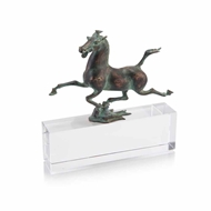John-Richard Tang Horse on Crystal JRA-10097