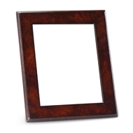 Jonathan Charles Wall Decor Crotch Mahogany Picture Frame Stepped Borders