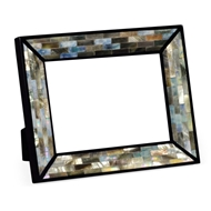 "Jonathan Charles Home 5""X7"" Rectangular Mother of Pearl Picture Frame 495490"