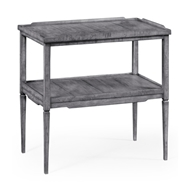 Jonathan Charles Home Antique Dark Grey Side Table