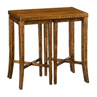 Jonathan Charles Home Nesting Cocktail Tables In Country Walnut 491040
