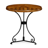 Jonathan Charles Home Country Walnut Style Parquet Table 491046