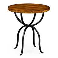 Jonathan Charles Home Country Walnut Round Side Table