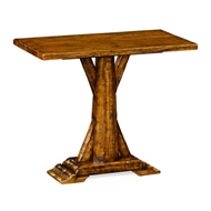 Jonathan Charles Home Country Walnut Rectangular Side Table 491084