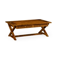 Jonathan Charles Home Country Walnut Coffee Table 491085