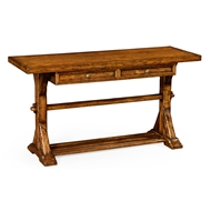 Jonathan Charles Home Country Walnut Topped Buffet 491087
