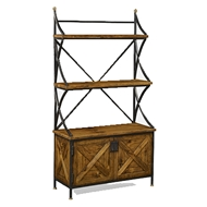 Jonathan Charles Home Antique Grey BakerS Rack Tagere 491096