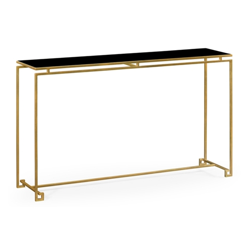 Jonathan Charles Home Gilded Iron Large Console Table