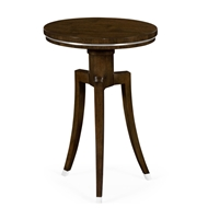 Jonathan Charles Home Round Wine Table In American Walnut