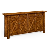 Jonathan Charles Home Walnut Country Sideboard 491124