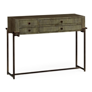 Jonathan Charles Home Chestnut Rectangular Console Table 491139