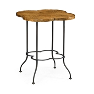 Jonathan Charles Home Limed Chestnut Lamp Table (Large)