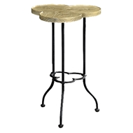 Jonathan Charles Home Limed Chestnut Lamp Table (Small)
