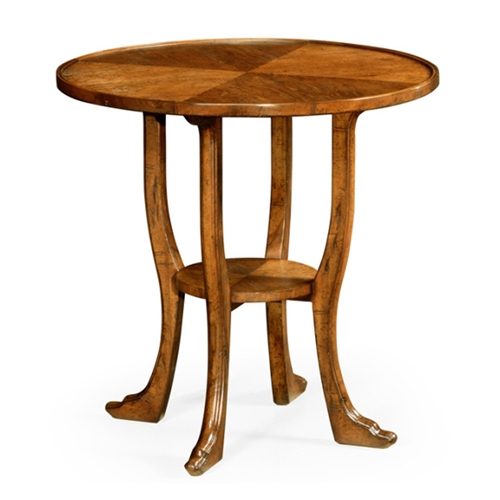 Jonathan charles home country walnut round lamp table 491163 cfw jonathan charles home country walnut round lamp table aloadofball Images