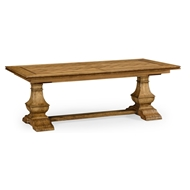 "Jonathan Charles Home 86"" Extending Dining Table In Chestnut"