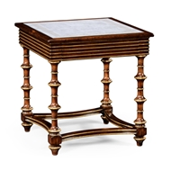 Jonathan Charles Home Walnut & Glomis Side Table