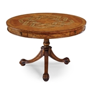 Jonathan Charles Home Ball & Claw Centre Table (Satinwood)