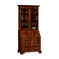 Jonathan Charles Home Mahogany Cabinet 492260-MAH Antique Mahogany Light