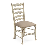Jonathan Charles Home Grey Painted Ladder Back Chair (Side) 492296-SC-PCS Painted Country Sage