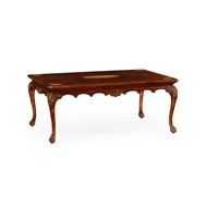 Jonathan Charles Home Mahogany Cabriole Leg Coffee Table