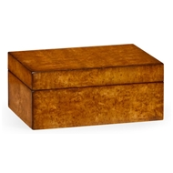 Jonathan Charles Home Masur Birch Rectangular Box 492890 Masur Birch Light Walnut