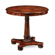 "Jonathan Charles Home 32"" William Iv Mahogany Breakfast Or Centre Table"
