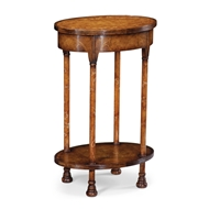 Jonathan Charles Home Gothic Walnut Lamp Table