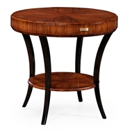 Jonathan Charles Home Art Deco Round Side Table