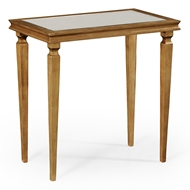 Jonathan Charles Home Italian Gilded Rectangular Side Table