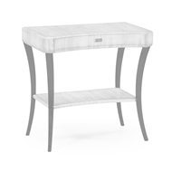 Jonathan Charles Home Opera Art Deco Rectangular Side Table 494085-GSH