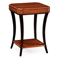 Jonathan Charles Home Art Deco Square Side Table (High Lustre)