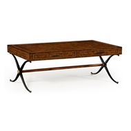 Jonathan Charles Home Hammered Iron Coffee Table
