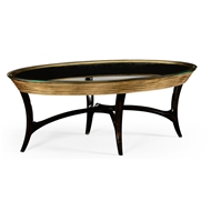 Jonathan Charles Home Stepped Gilded Coffee Table