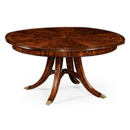 "Jonathan Charles Home 59"" Mahogany Circular Dining Table"