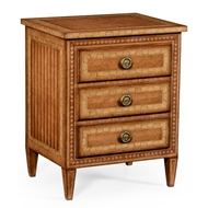 Jonathan Charles Home Satinwood Bedside Chest
