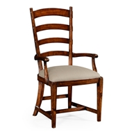 Jonathan Charles Home French Ladderback Style Carver Chair