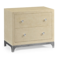 Jonathan Charles Home Alexander Julian Low Chest (Camomile/Silver) 494783