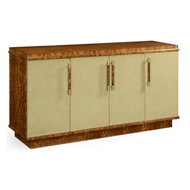 Jonathan Charles Home Hyedua And Celedon Finish Sideboard With Four Doors 494914