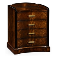 Jonathan Charles Home Biedermeier Style Mahogany Bedside Chest