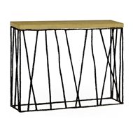 Jonathan Charles Home Bronze Hammered Console With Celadon Top 495087-BRO Brass Black Antique Finish with Highlight