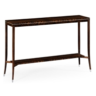 Jonathan Charles Home Soho Narrow Console With White Brass Detail
